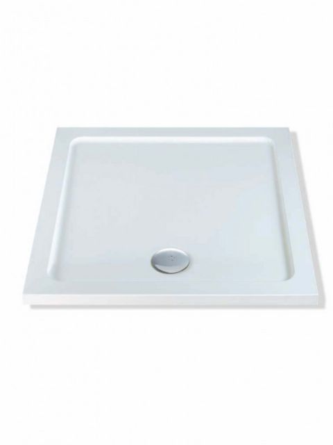 Anti-Slip MX Durastone 800mm x 800mm Square Low Profile Tray with Upstands XF4